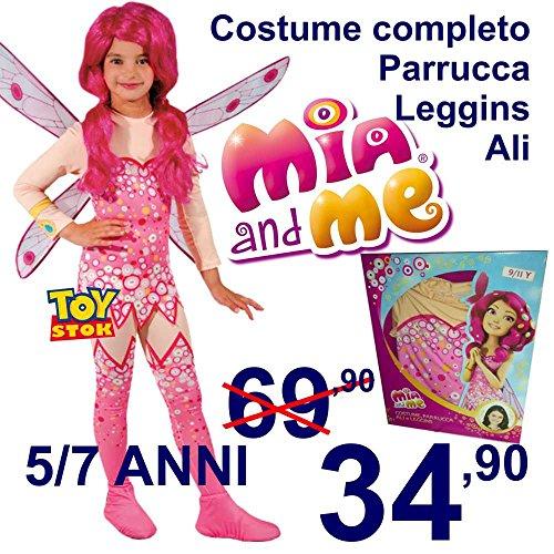 Kostüm Mia and Me Kleid Kostüm Kleid Mädchen 5/7Jahre Mia & Me von