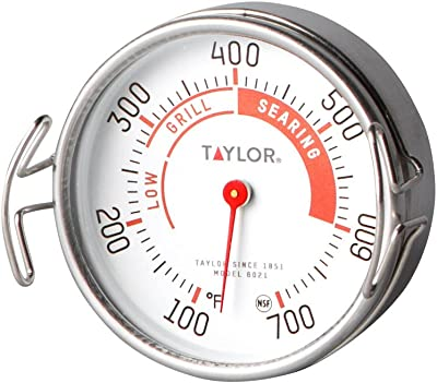 Taylor Precision Products Classic Line Grill Guide Termómetro (100 a 100 °F)