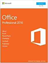 Microsoft Office 2016 Professional, Multi-language, Life time Activation, USB Flash drive   Activation Key Card, Sealed Pa...