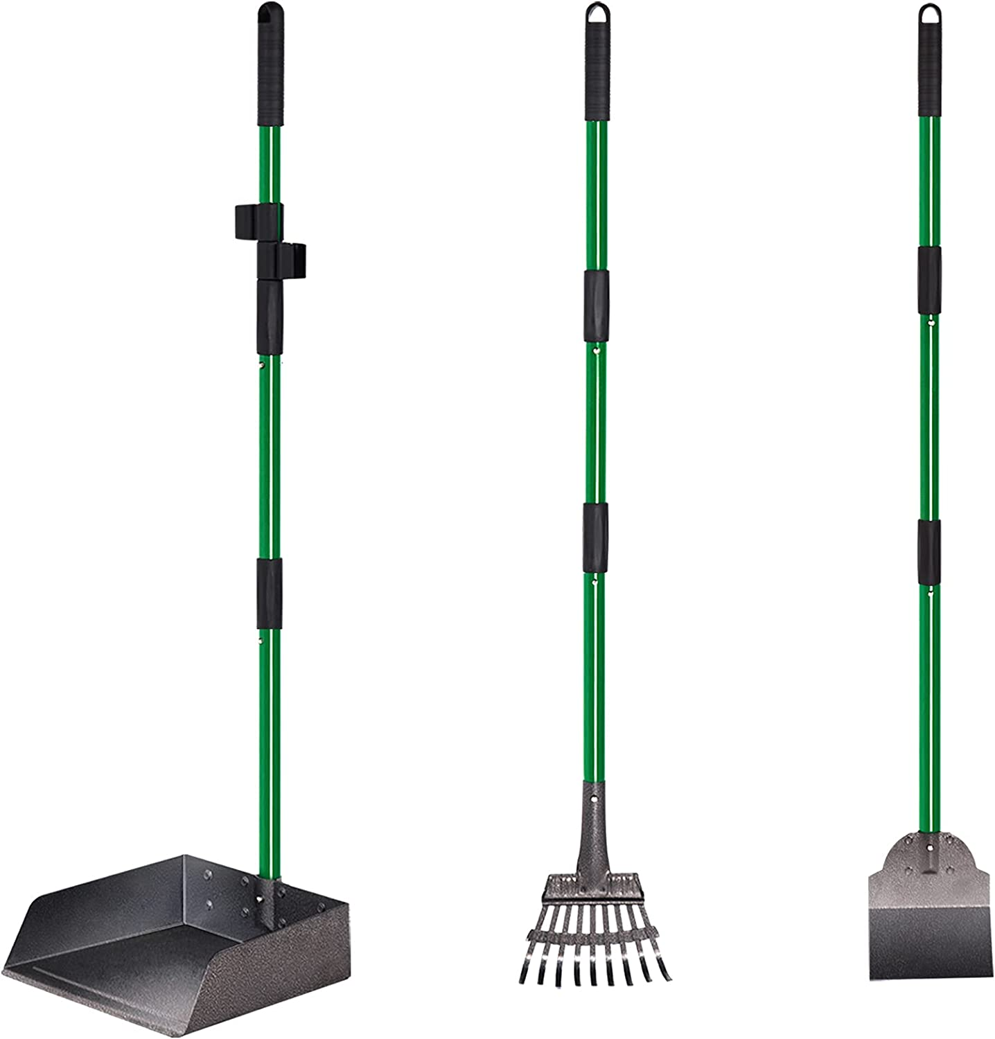 Dog Pooper Scooper Adjustable New Shipping Free Shipping Long Metal Rake and Handle Tray New product