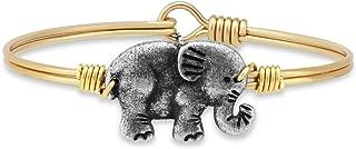 Elephant Bangle Bracelet for Women Made in USA