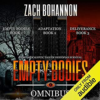 Empty Bodies Box Set, Books 1-3 audiobook cover art