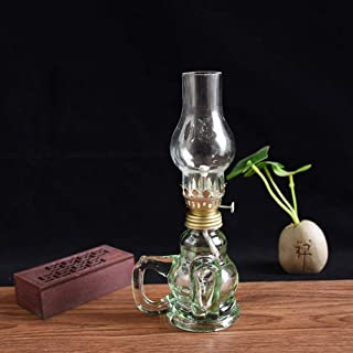 Aaedrag Kerosene Lamp Classical Emergency Lamp Traditional Glass Oil Lamp Home Decorative Lamp Retro kerosene lamp glass c...