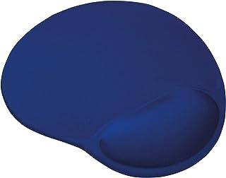 Trust Bigfoot - Alfombrilla para ratón ergonómica con relleno de gel, azul