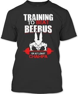 Training to Beat Beerus Or at Least Champa T Shirt, Saitama T Shirt