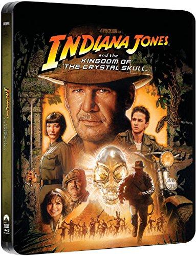 Indiana Jones and the Kingdom of the Crystal Skull - Exklusive Limited Steelbook Edition (inkl. Deutscher Ton / auf 4000 Stk. geprägt) (Das Königreich des Kristallschädels) [Blu-ray]