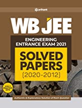 WB JEE Engineering Solved Paper 2021