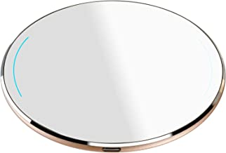 TOZO W1 Wireless Charger Ultra Thin Aviation Aluminum CNC Unibody Fast Charging Pad Gold..