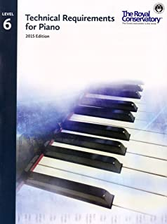 TRP06 - Royal Conservatory Technical Requirements for Piano Level 6 2015 Edition