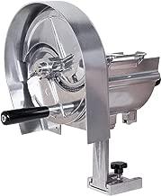 8 kg Mehl Knethaken 103 oder 156 U//min, Sch/üssel 11 oder 16 U//min 20l Gesamtvolumen f/ür max mit Spiralkneter und rotierender Sch/üssel Beeketal BTK20 Profi Teigknetmaschine 20l auf Rollen