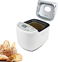 Domaier Machine à Pain, 19 Programmes pour Pain au Levain Naturel, Programmes Sans Gluten, Brioche, Pâtes, Confiture, etc,...