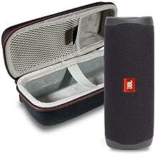 JBL Flip 5 Waterproof Portable Wireless Bluetooth Speaker Bundle with Hardshell Protective Case -...