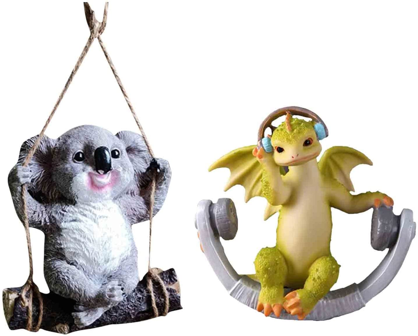 Swing Cheap bargain Simulation Animal Resin Outdoor Stat Garden Clearance SALE Limited time Statue