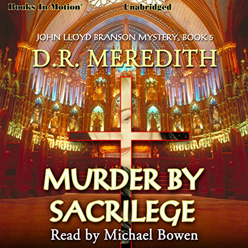 Murder By Sacrilege audiobook cover art