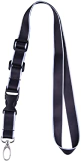 Office Lanyard, Wisdompro® Adjustable Length, Polyester Neck Strap with Oval Clasp & Detachable Buckle for ID, Name Tag, C...