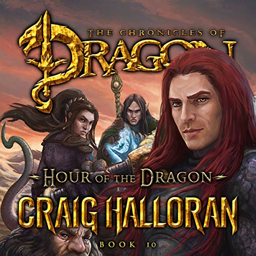 Hour of the Dragon audiobook cover art