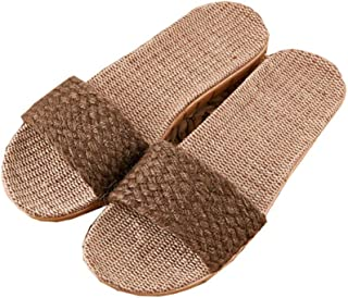 Slippers Non-slip Comfortable Beach Shoes Sandals Fashion Linen