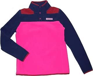 Women's Color Block Fleece Snap Shep Shirt (XXS)