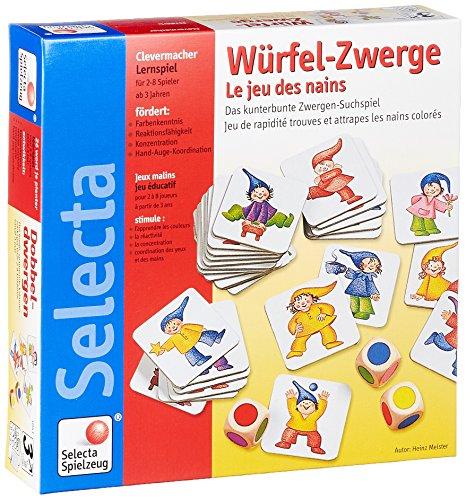 Selecta 63003 Würfel-Zwerge