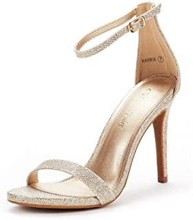 a369bfdaf136a8 DREAM PAIRS Women s Karrie High Stiletto Pump Heel Sandals