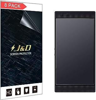 J&D Kompatibel för Razer Phone 2 skärmskydd (8-pack), inte heltäckande, bländskydd matt film skärmskydd för Razer Phone 2 ...