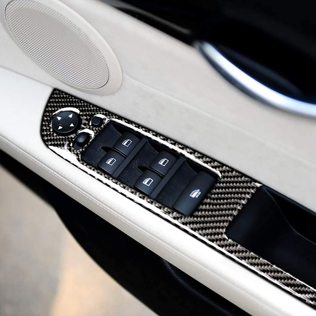 Car Inner Carbon Fiber Window Popular product Lift Button BMW Trim Frame For Z4 Quantity limited