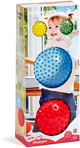 Edushape Sensory Ball Mega Pack, 4 Piece