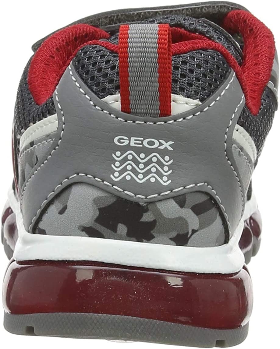 Geox Kids Android Boy 21 Light Up Velcro Sneaker