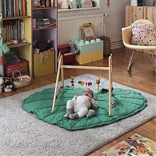 XingYue Direct Feuille Verte Type bébé Tapis de Jeu Coton Doux Tapis de Sommeil Tapis de Sol activité de bébé Crawl Couverture Pad