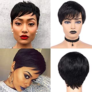 Best african american pixie wigs Reviews
