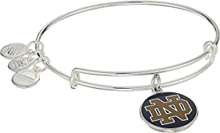 Alex and Ani Womens Color Infusion University of Notre Dame Logo II Bangle