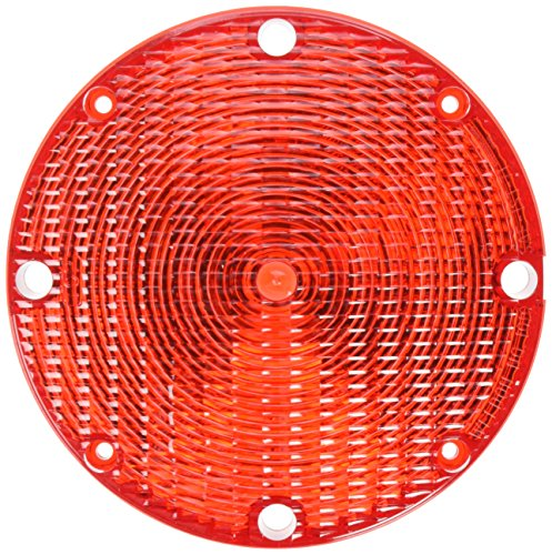 """Grote 99842 Red Stop Tail Turn Replacement Lenses (7"""" School Bus Lens)"""