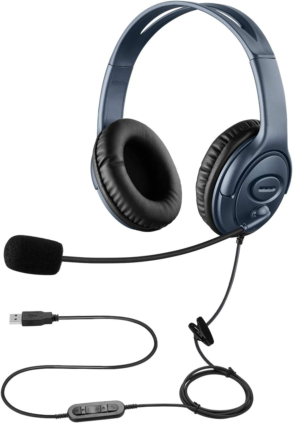 Jiade USB Headset with 2021 autumn and Choice winter new Noise Canceling for CallCenter Microphone