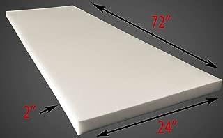 "Foam Sheet 2"" Thick, 24"" Wide X 72"" Long Medium Density"