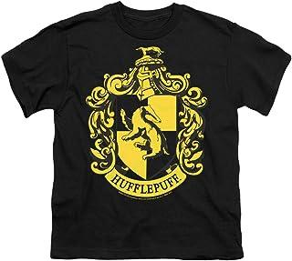 Popfunk Harry Potter Hufflepuff Logo Hogwarts Kids Youth T Shirt & Stickers
