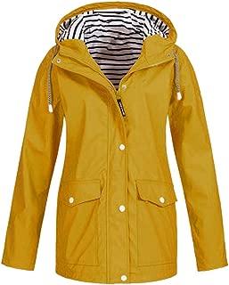 Spring Autumn Women Solid Rain Jacket Coat Women Outdoor Jackets Plus Size Hooded Warm Cotton Coats New Outwear