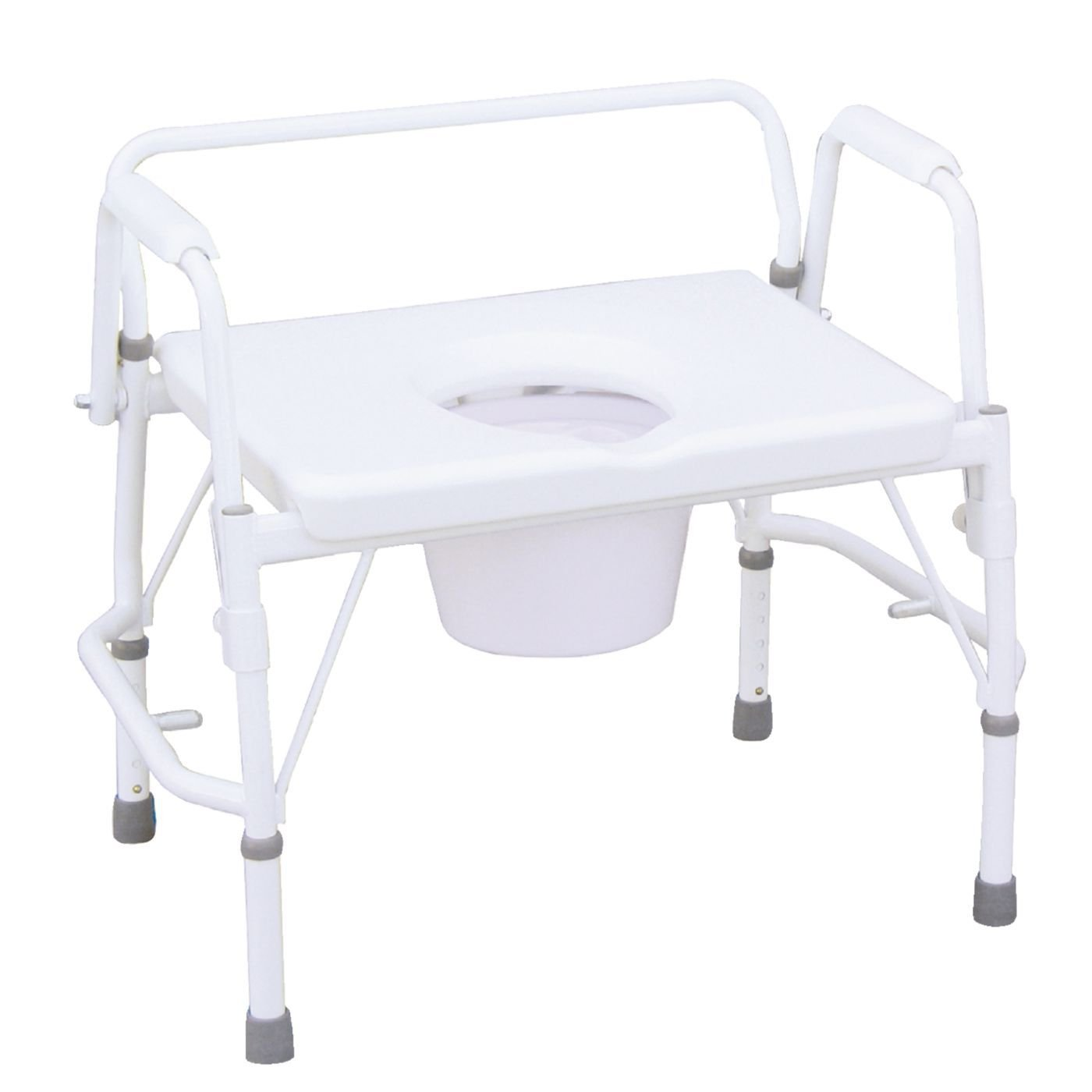 Popular shop is the lowest price challenge ! Super beauty product restock quality top! Drop-Arm All in Commode Bariatric One