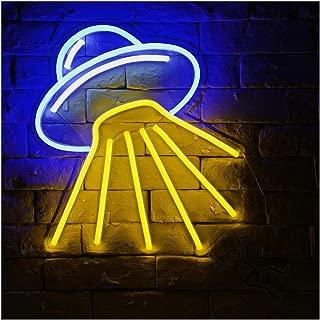 Alien Spaceship-B LED Neon Sign Lights Night Light
