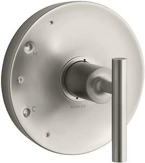 KOHLER TS14423-4-BN Purist(R) Rite-Temp(R) valve trim with lever handle