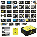 1966 Ford Mustang A/C Relays, Sensors & Switches - KEYESTUDIO 37 in 1 Sensor Kit 37 Sensors Modules Starter Kit for Arduino Raspberry Pi Programming Project, Electronics Components STEM Education Set for Kids Teens Adults + Tutorial