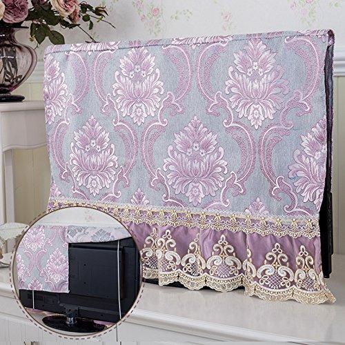 Tv Lcd tessuti cofano copertura continentale asciugamano cappa tv ,c,124*75cm coperchio parapolvere
