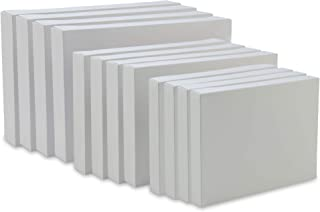 Psithurism | Premium Grade White Paper Gift Boxes with Lids - 12 Pack Assortment