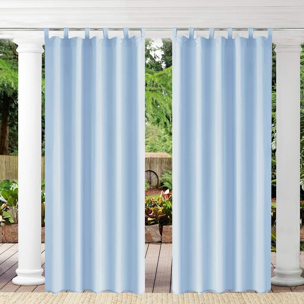 Pro 5 ☆ very popular Space Outdoor Curtains Waterproof Top fo Finally resale start Window Tab