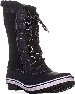 Jambu Lorina Mid Calf Winter Boots, Navy