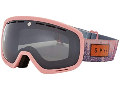 Spy Optic Marshall (Native Nature Pink Happy Gray Green w/ Silver Spectra) Snow Goggles