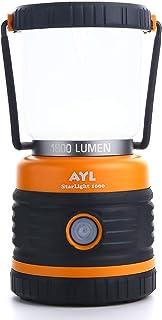 AYL Starlight Camping LED Lantern (1800 Lumens) - چهار حالت ، چراغ فانوس قابل حمل مقاوم در برابر آب برای موارد اضطراری ، طوفان ها ، طوفان ها