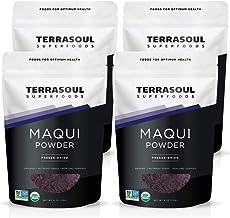 Terrasoul Superfoods Organic Maqui Berry Powder, 1 Lb (4 Pack)