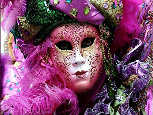 Mask Woman Full Diamond Painting Cross Stitch kit Art Landscape Diamond Painting