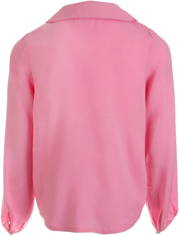 Billieblush Bluse rosa mit Stickerei