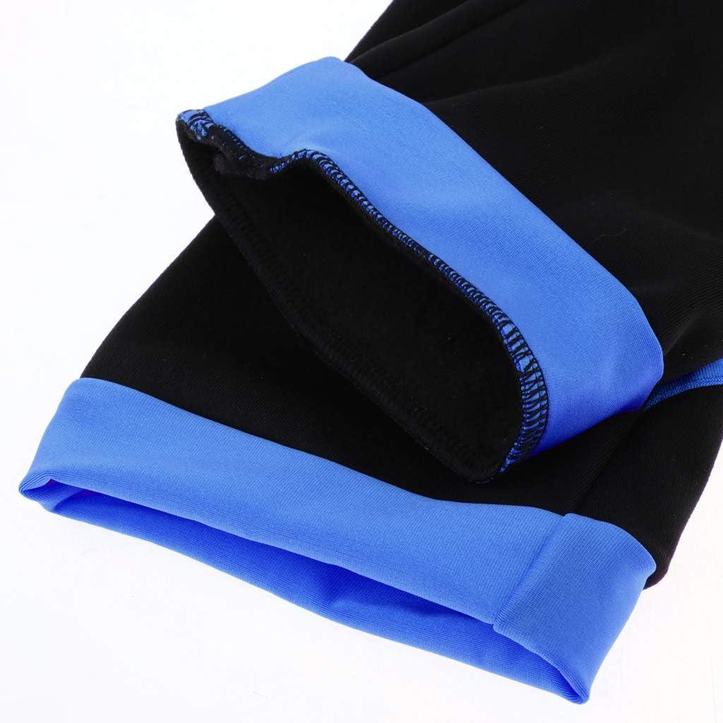 Toygogo Einslaufen Hose Eiskunstlauf Leggings Strumpfhose mit Fleece